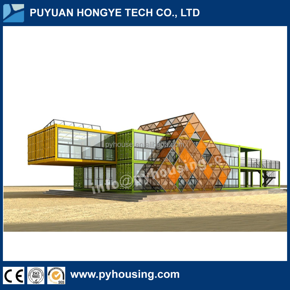 2016 China New Hot Selling Luxury office Mobile Prefab Container Office