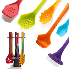 Kitchen Utensils Set 6 Piece Tools Gadget Spoon Spatula Cooking New Silicone