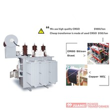 11KV Thailand Philippines transformer medium voltage step down oil-immersed electrical transformer 1500KVA