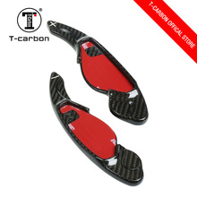 Wholesale real carbon fiber steering wheel shift paddle for car
