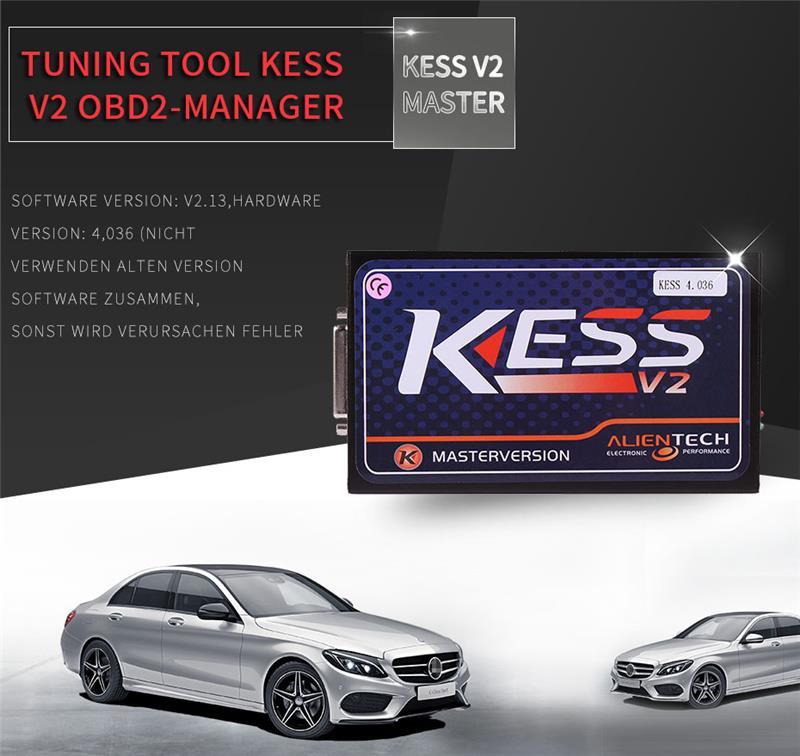 2017 Car Ecu Programmer No Token Limitation Kess V2 V4 036 Kess V2 Firmware  V4 036 Kess V2 Obd2 Ecu Chip Tuning - Buy Kess V2 Obd2 Ecu Chip