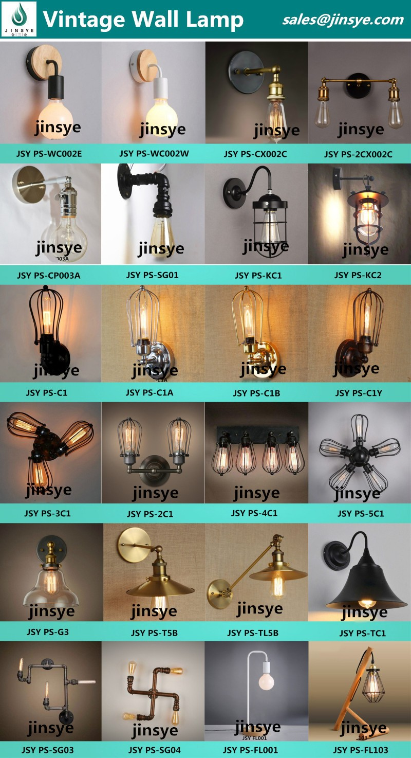 A19/G80/G95/G125/ST64/T45/T300 Vintage led edison bulb led filament bulb led light Bulb