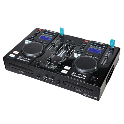 CD player/Professional combo CD Player with Mixer/USB/MIDI/Bluetooth