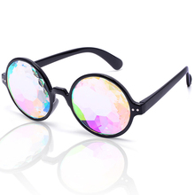 ZOGIFT new products The holiday christmas kaleidoscope sunglasses rave party halloween glasses