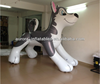 2014 best popular custom inflatable husky for sale