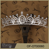 Fashion custom pageant crown rhinestones flower crown for women