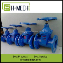 Non-standard Cast Steel Body Material PN10/16 DN100 Flanged Connection Gate Valve