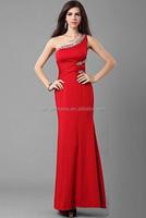 2014 long red rhinestones quinceanera prom dresses