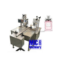 Alibaba supplier Micmachinery Car use Exqusite Decoration perfume bottle filling machines