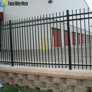 Wholesale Garden Steel Fence Wrought Iron