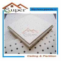 Square Ceiling Tile Shape and Ceiling Tiles,Construction Material Mineral Fiber Board Panels Type mineral fiber ceiling panels