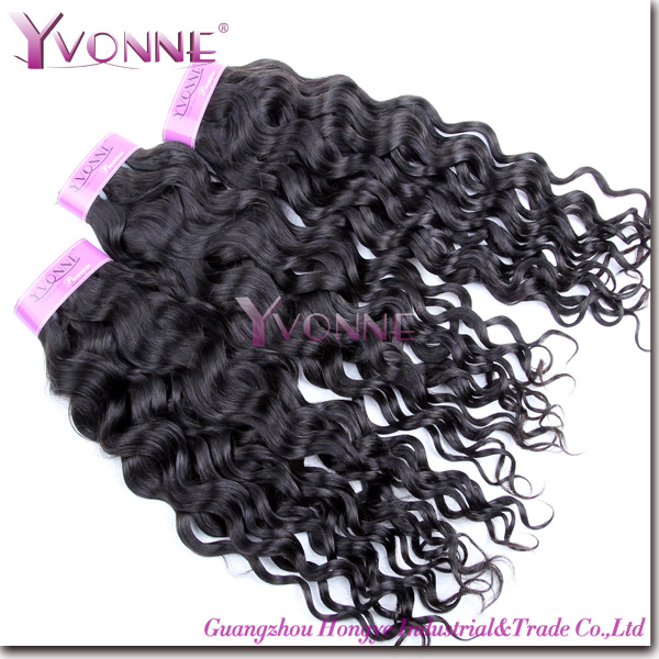 Natural black top quality 5a unprocessed Brazilian human hair