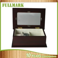 Promotion custom packaging gift wooden watch box