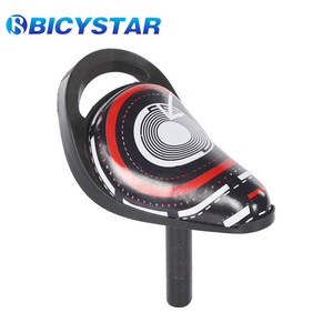 high quality cute bike seat for child Brooks Cow leather bike seat with backrest child bicycle seat