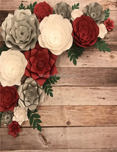 Large Paper Flowers Decorative Wall Paper Flowers Wedding Backdrop Decorations