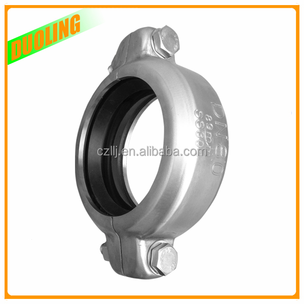 duoling FRP threaded rod reducer coupling ss316 pipe
