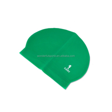 Promotion Customized Logo Printed Latex Swim Caps