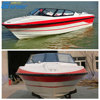 Gather China used outboard engine fiberglass passenger boat for sale