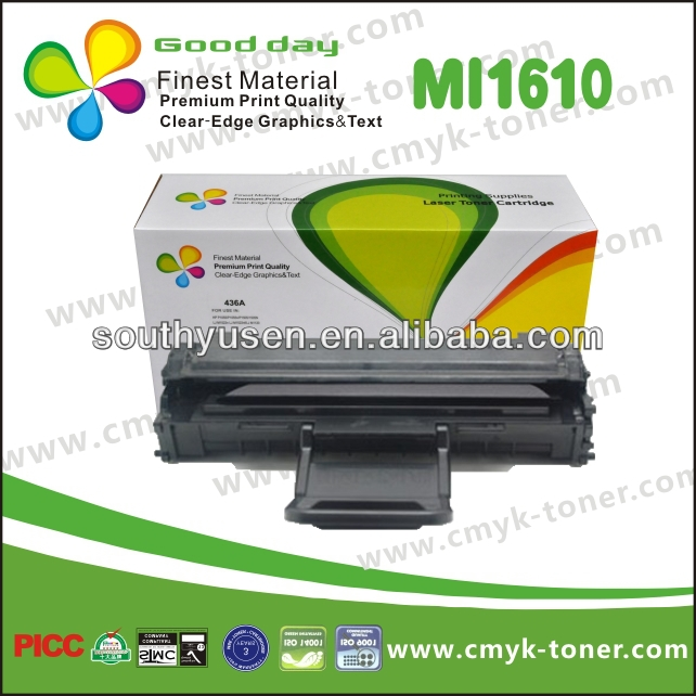High Quality Black Toner Cartridge ML-1610 Compatible For Dell 1100 and Xeox 3117
