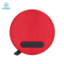 Outdoor Mini 3W Speaker 1200mAh Long Time Playing Mesh Fabric Bluetooth Speaker Grill Cloth