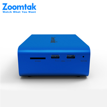 Zoomtak personalized pre-installed international smart 4k global tv box