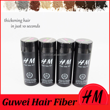 Perfect hair loss solutions human hair building fiber
