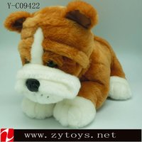 Real feel dog toy plush