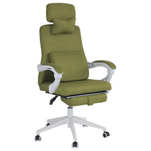 Free Samples office chair ergonomic metal frame medical waiting room chairs With Footrest And Headrest
