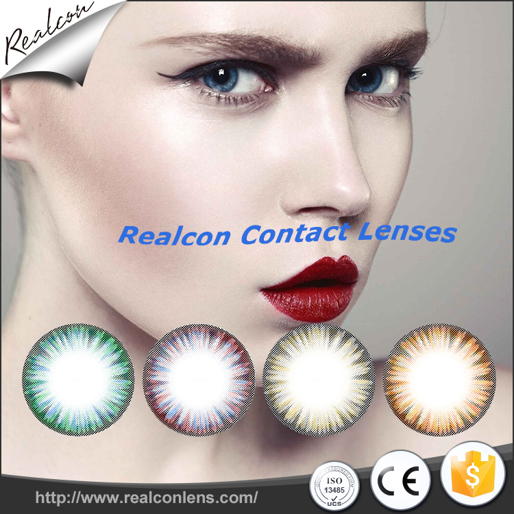 Cosmetic eye contacts for eyes wholesale china cheap price color contact lenses