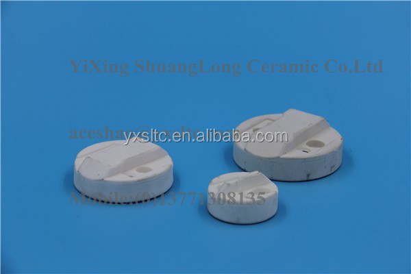 Zirconia ZrO2 Pad Printer incup ring electrical ceramic insulators ceramic electronic components