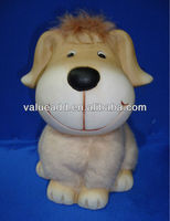 ceramic plush dog