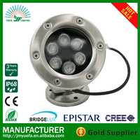 IP68 6w stainless steel led pool lights