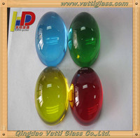 Light blue ball,decorative glass ball,various colors and styles solid red color glass ball
