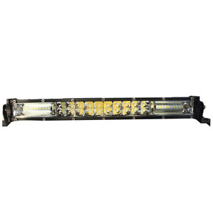 14 inch wholesale 120W new double rows amber led light bar for truck tractor off road mini light bar with e-mark
