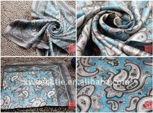 High Quality 100% Silk Scarf 53X53CM