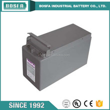 12v125ah vrla front terminal rechargeable deep cycle battery