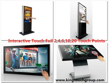 "Nanotechnology 70"" Interactive Projection foil For Windows glass shop Touch Table"