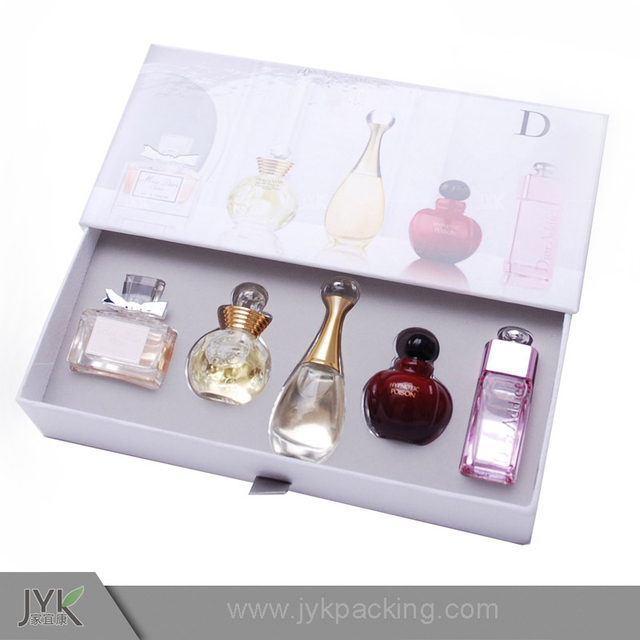 Custom Fashion Luxury retail paper printing fragrance packaging box