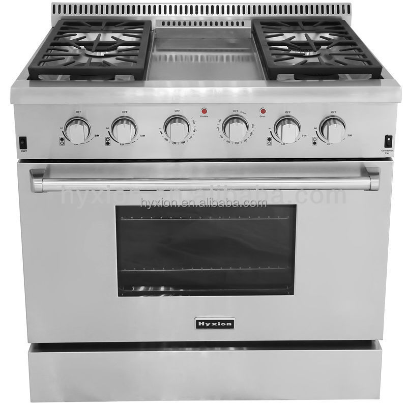 36 Inch Hyxion Gas Range Reviews