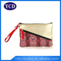 Wholesale summer private label cosmetics bag with zipper