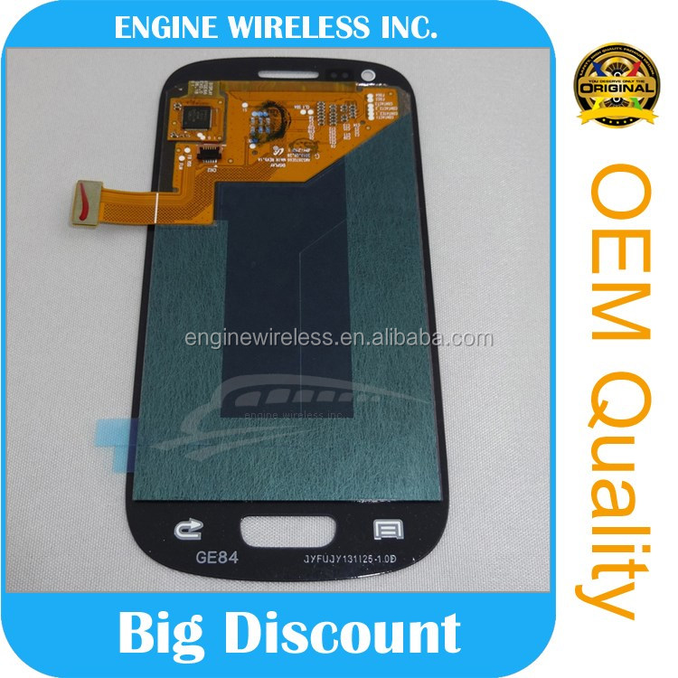 100% original factory price lcd for samsung galaxy s3 mini i8190 lcd screen display |