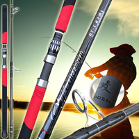Deland New Double Color Pencil Popping Fishing Rod