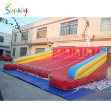 Sunway Factory Customized Inflatable Climbing Slide Inflatable Sports Outdoor Games for Sale