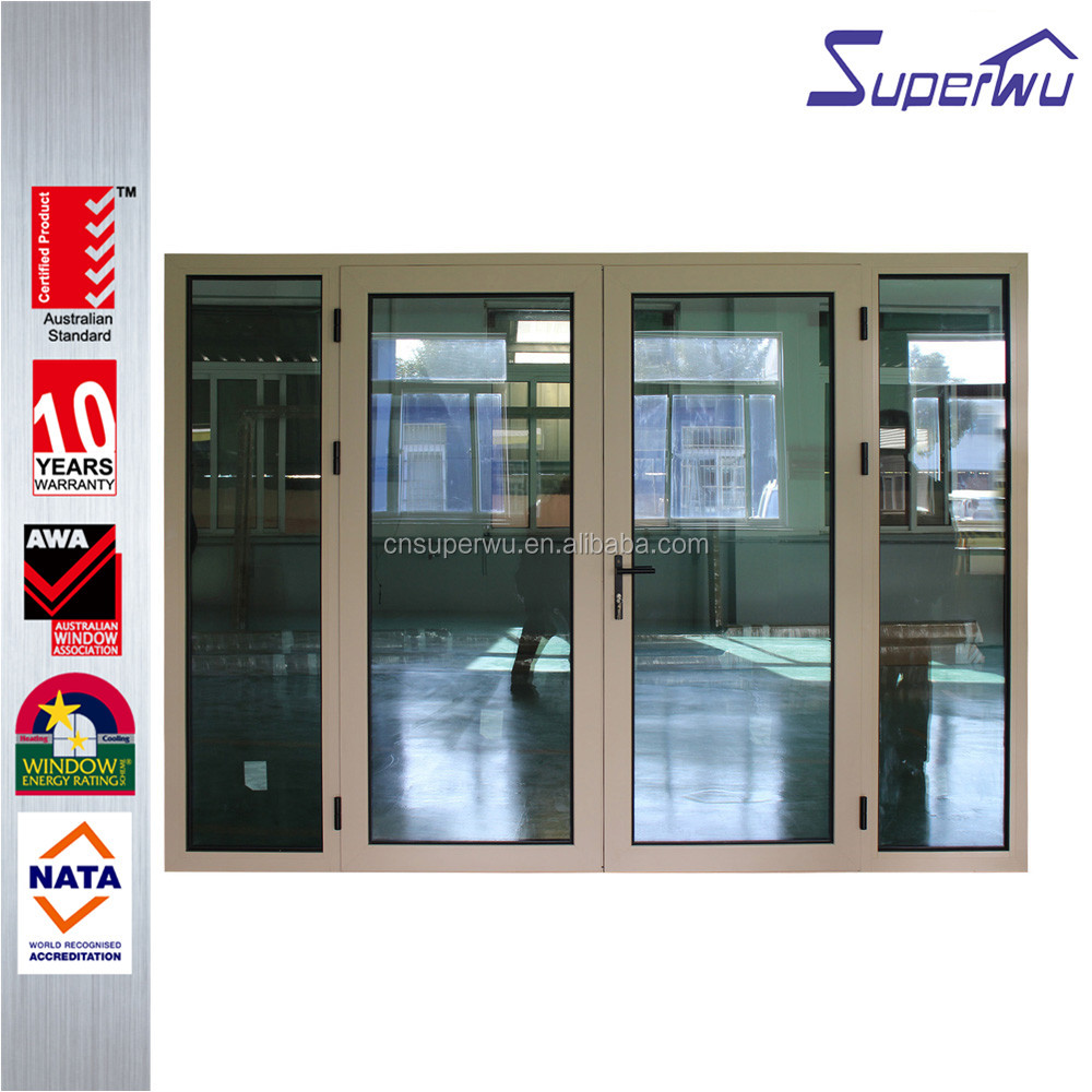 WAMA standard China supplier round top exterior double entry door