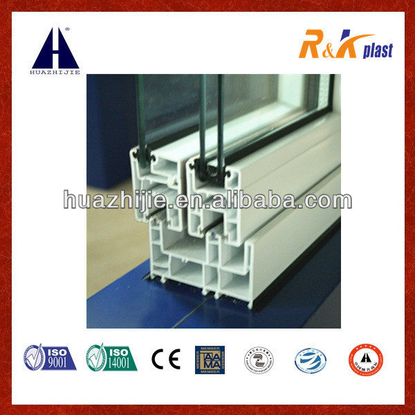 EUROPEAN STYLE SLIDING PVC PROFILE FOR WINDOW AND DOOR