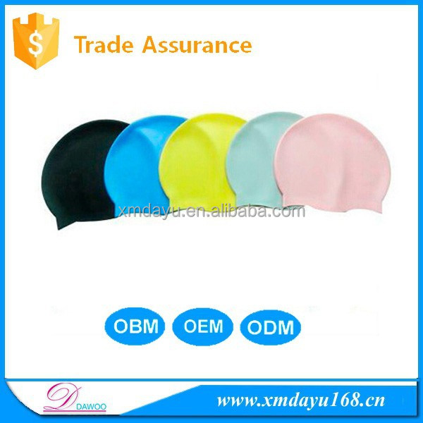 Adult Novelty Custom silicon swimming cap