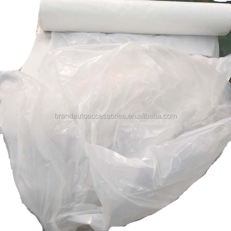Rolled cheap plastic disposable car seat cover roll HDPE LDPE no printing plastic white color seat cover