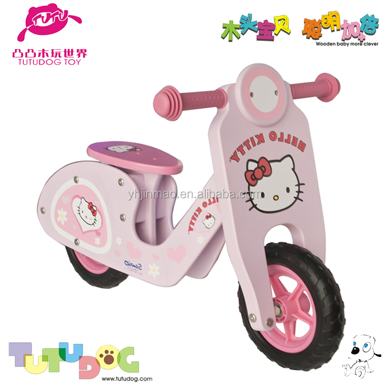 2015 popular wooden art scooter toy set
