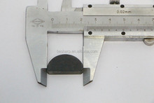 PCD cutting tool blank for grooving cutter