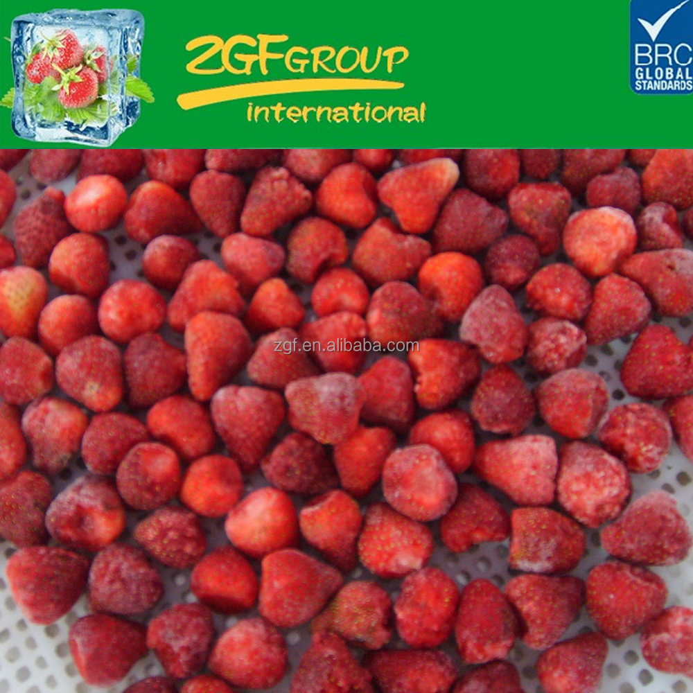 2016 Grade A New Season high quality sweet frozen strawberries